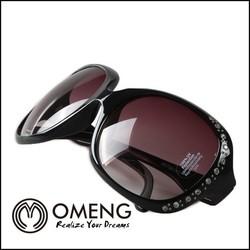Big Girl Sunglasses, Diamond Frame Fashion Eyewear