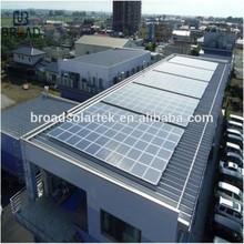 solar panel price solar system for roof metal frame