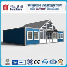 steel container house apartment building