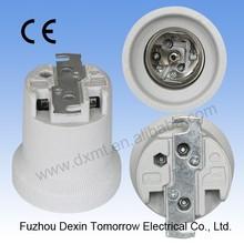MT540(horn style) E40 ceramic lamp socket. E40 lampbase, E40 porcelain lampholder with CE