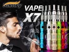 Replacement coil e-cigarette tank mod x7 vaporizer, vapor electronic pipe x7
