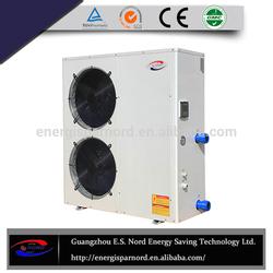 Low price high quality 220v 60hz galvanized steel 12kw swimming pool heat pump