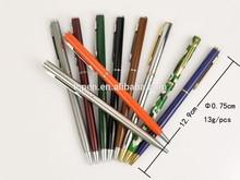 Heat transfer printing Hotel pen Thin Ballpoint pen