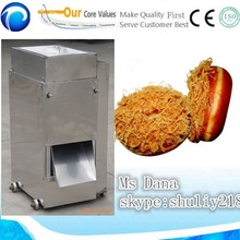 Best dried meat floss processing machines /popular cooked meat shredding machines(skype:shuliy218 )