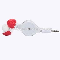 AV 3.5MM audio retractable earphone roller QYH