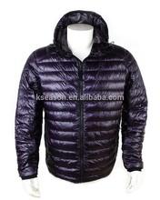 100% nylon men or lady ultra thin ultra light down jacket