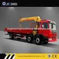 Xcmg sq8sk3q 8 toneladas recto- brazo de carga de camiones con grúa