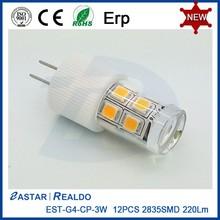 Manufacturer Supply Ceramic&CP G4 Led Bulb