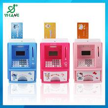 YK-902 Mini Digital ATM Bank Toy Plastic Money Box With Lock