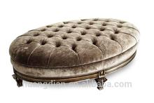 wholesale indian ottoman pouf latest bedroom furniture OT6012