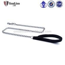 2015 variety sizes classic pet chain pet leash pet lead with foam handle