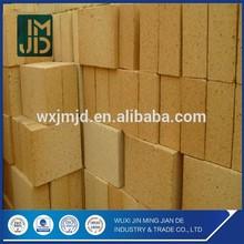 High Alumina Refractory Fire Bricks For Ceramic Tunnel Kiln , Iron Making Furnaces Firebrick