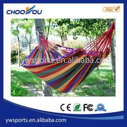 Bottom price top sell bicolor parachute nylon hammock