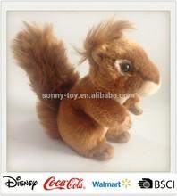 Lifelike Plush Squirrel