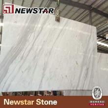 Newstar best quality volakas white marle stone