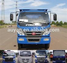 4*4 medium size Foton Forland dump truck