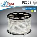 Mlight, tercera generación 660 110V 220V de alta tensión, Flex Franja de luz LED Blanco natural IP47 IP65 CE RoHS FCC 50m