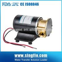 Singflo12v vane pump/types of pump impellers
