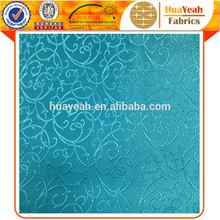 Upholstery curtain design jacquard blue color stripe fabrics