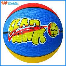 All size league #3 coloful basketball