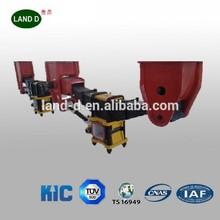 Heavy duty truck trailer suspension system 13T 16T Fuwa type suspension