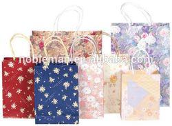 For Bands Stackable Kraft Paper Promotional Bags For Industrial Design