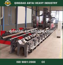 Internal and external steel pipe polishing machine abrator
