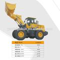 Lishide cl935 minivan hidrolik ekskavatör/tekerlekli kazıcı satılık