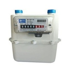 domestic diaphragm gas meter with aluminum case