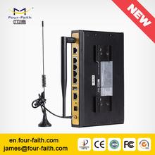 F3834 Industrial 4G Router WIFI hotspot with sim slot WAN LAN for public WIFI hotspot