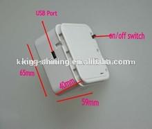 music plstic box with mini light sensor chip