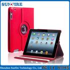 360 Degree Rotate Lichee Pattern Leather Case For Ipad 6/ Air 2 , Ipad 2/3/4 , Ipad Mini