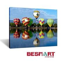 hot-air balloon canvas wall decoration,hot-air balloon canvas print wall decoration,hot-air balloon art canvas picture