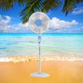 2015 5 lâminas de plástico 16'' stand ventilador potência 60w