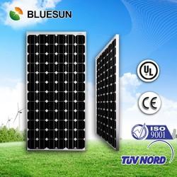 175W mono solar panel with CE/IEC/TUV/UL certificates