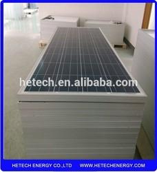 TUV,CE 150W Polycrystalline cheap solar panel for india market