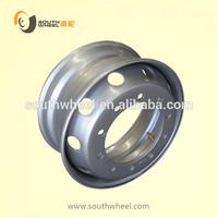 OEM tubeless / tube steel wheel rim used for trucks and passenger buses