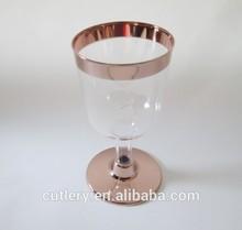 EC03 beautiful disposable wine glass