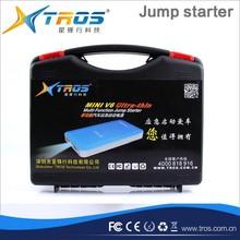 2015 Fashion products led lights car jump start emergency tool kit car battry jump starter jump start 12v cars and motors