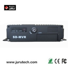 Mobile DVR with SD CARD storage 4ch hdd vehicle car dvr GPS 3G WIFI optional