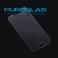 Pureglas Clear Screen Protector Cover Film for Samsung Galaxy S4 Mini I9190, certificated tempered screen glass protector
