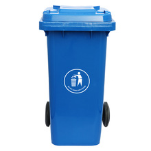 cheap plastic bin with lids for outdoor recycling waste