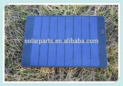 4V1W Portable PET laminated PV small solar panel for science kits