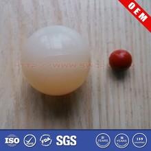 OEM Polished smooth transparent plastic sphere for hot sale