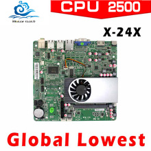 XCY X-24X Intel atom D2550 Industrial Motherboard Mini-ITX main board Micro computer motherboard with 4*USB2.0