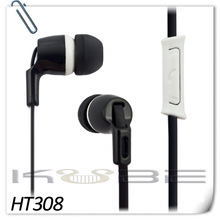 Cellphone handsfree in ear earphone with microphone stereo 3.5mm