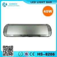 40W Car Strobe light 40 LED Emergency Beacon Light Bar Hazard Warning Lamp