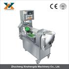 800-1500kg/h vegetable&meat&fruit multifunction cutter machine