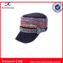 flat top corduroy outdoors Gorgeous colorful camp cap hat wholesale
