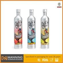 500ml aluminum beverage bottle